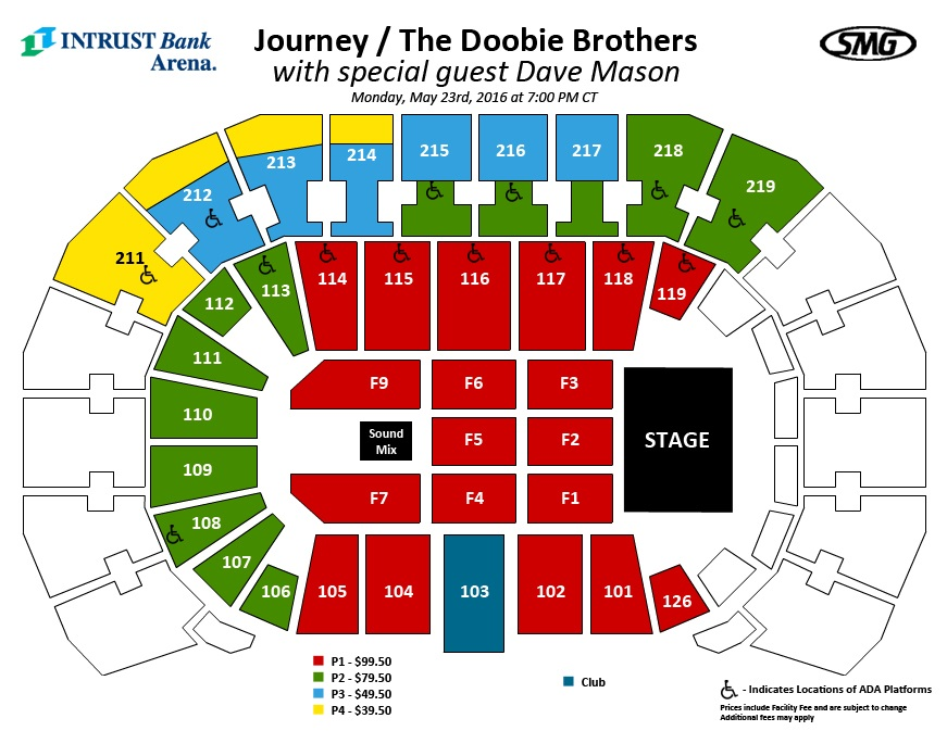 Journey and the doobie brothers with special guest dave mason in
