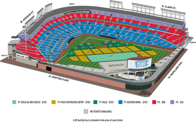 Wrigley field seating chart viewer mersn proforum co